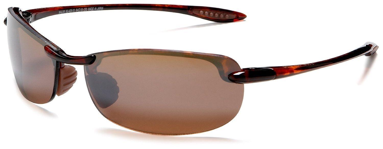 40160f1890f Maui Jim Makaha Unisex Tortoise HCL Bronze Polarized Lens H405-10 Sunglasses   Amazon.co.uk  Shoes   Bags