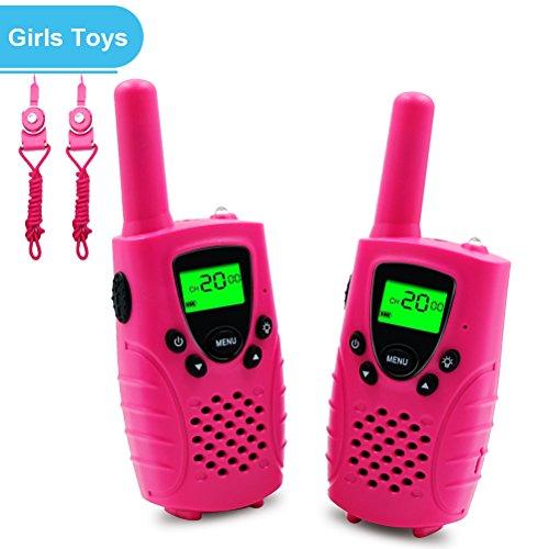 Walkies Talkies for Kids, 22 Channels FRS/GMRS UHF Two Way Radios 4 Miles Handheld Mini Kids Walkie Talkies for Boys Girls Best Gifts Kids Toys Built in Flashlight, ()