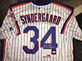 Noah Syndergaard Autographed Jersey - Throwback Thor Ace - PSA/DNA Certified - Autographed MLB Jerseys