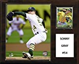 "C&I Collectables MLB Oakland Athletics Sonny Gray Player Plaque, 12""x15"""