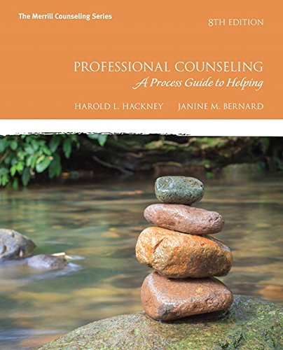 Professional Counseling: A Process Guide to Helping (8th Edition) by Harold L Hackney (2016-01-14)