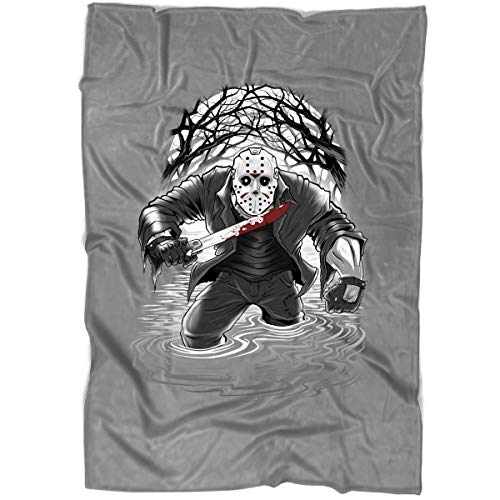 (ROEBAGS Freddy Krueger A Nightmare On Elm Street Film Series Blanket for Bed and Couch, Jason Voorhees Halloween Friday The 13Th Blankets - Perfect for Layering Any Bed (Medium Blanket)