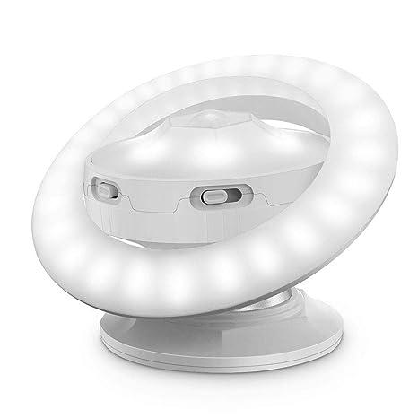 Mioloe Luz recargable del USB de la lámpara de la noche de la inducción del sensor