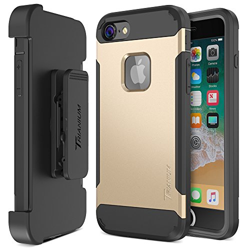 Trianium iPhone 8 Case  Rugged Holster Heavy Duty Protective