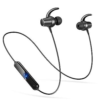 Semiro Bluetooth イヤホン 高音質 ワイヤレスイヤホン IPx5防水 ヘッドセット 両耳 スポーツ マグネット ON