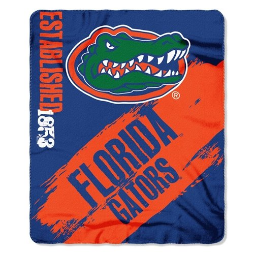 - Florida Gators 50x60 Fleece Blanket - College Painted Design