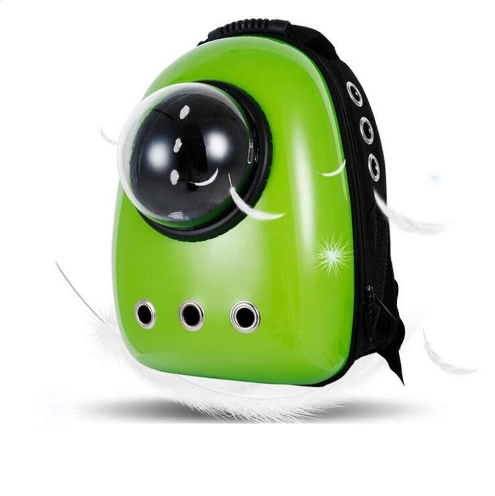 4 Rrock Pet Space Backpack, Go Out Portable Transparent Window Pet Bag Breathable Cat Bag Dog Backpack