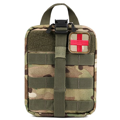 Bagail Molle Pouch Rip-away Emt Pouch Ifak Pouch Medical First Aid Kit Utility Pouch 900D Nylon