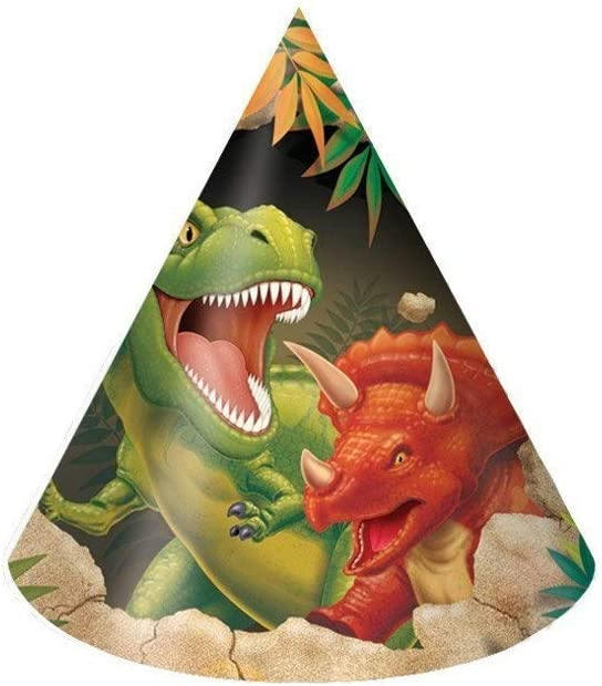 Creative Converting Dino Blast 24 Count Child Party Hats SG/_B06Y57Q74B/_US