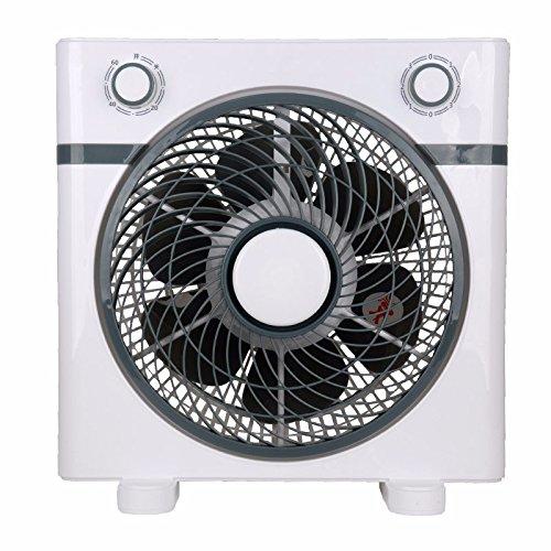 YJTCW Household electric fan fan students large wind energy saving fan,ash Personal Fans by YJTCW
