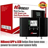 HiBoost 10K Smart Link - Cell Phone Signal Booster - Improves Reception on Phones, Tablets and Hotspots - Cell Booster to Support all Carrier - For Homes and Offices. Boost up to 4,000 - 10,000 Sq. Ft
