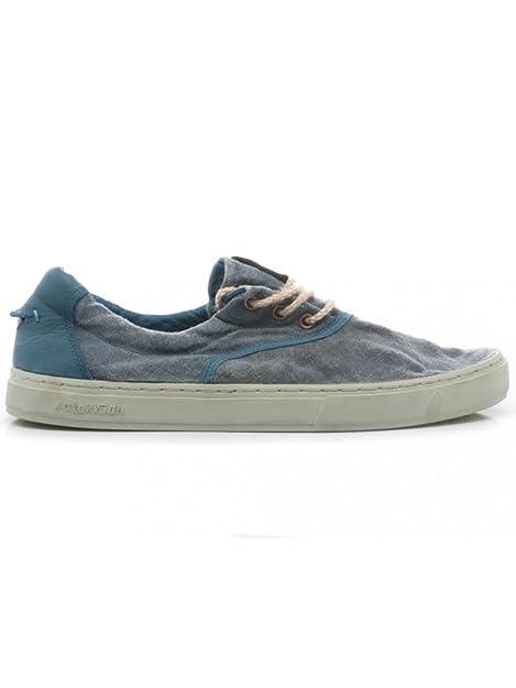 Satorisan Zapatillas de Tela para Hombre Azul Turquesa: Amazon.es: Zapatos y complementos