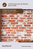 Ejecución de fábricas para revestir. EOCB0208 (Spanish Edition)