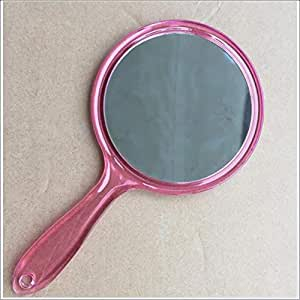 Amazon Com 6 Inch Handle Mirror Hand Held Large Silver