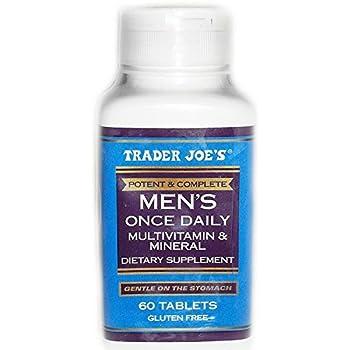 Amazon Com Trader Joe S Men S Formula 60 Tablets Health