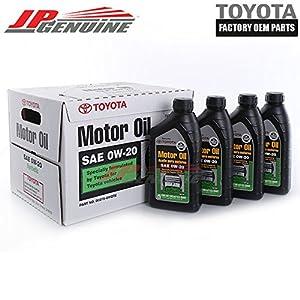 GENUINE TOYOTA OEM 00279-0WQTE-01 OIL (4 QUARTS)