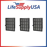 3 pcs True HEPA Replacement Filter Fits Winix 114190 Size 21 by Vacuum Savings