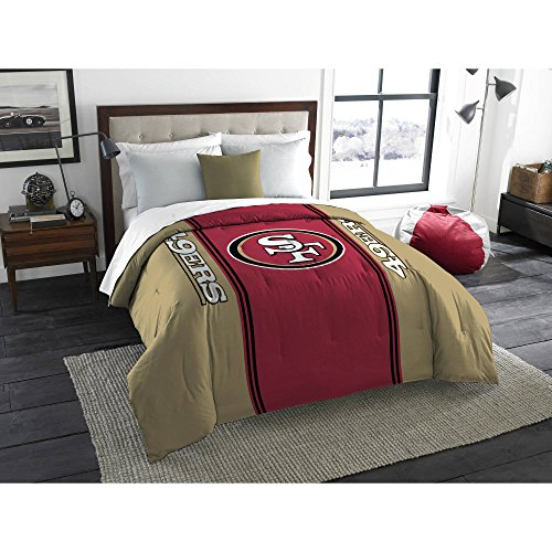 NFL Anthem Twin/Full Bedding Comforter Only, San Francisco 49ers