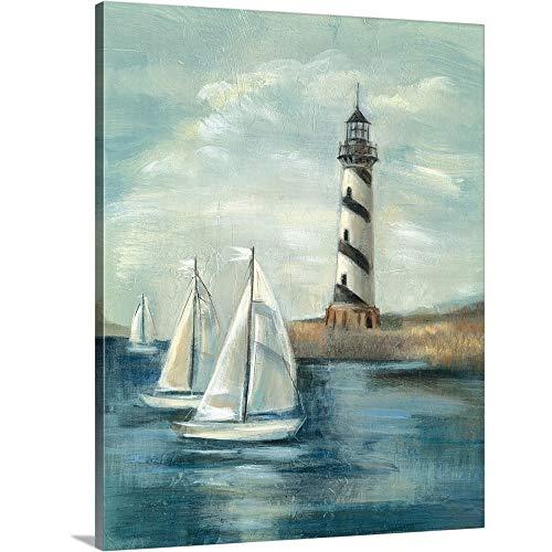 Northeastern Breeze II Canvas Wall Art Print, 16