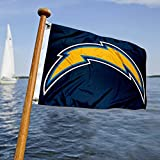 San Diego Chargers Boat and Golf Cart Flag
