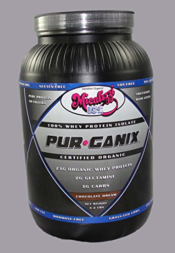Pur-Ganix 100% Organic Whey Isolate Protein (Chocolate Dream)