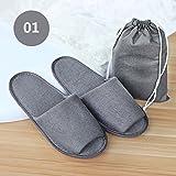 Fashion Travel Business Club Home Portable Durable Folding Cloth Slipper Storage Bag Men Women