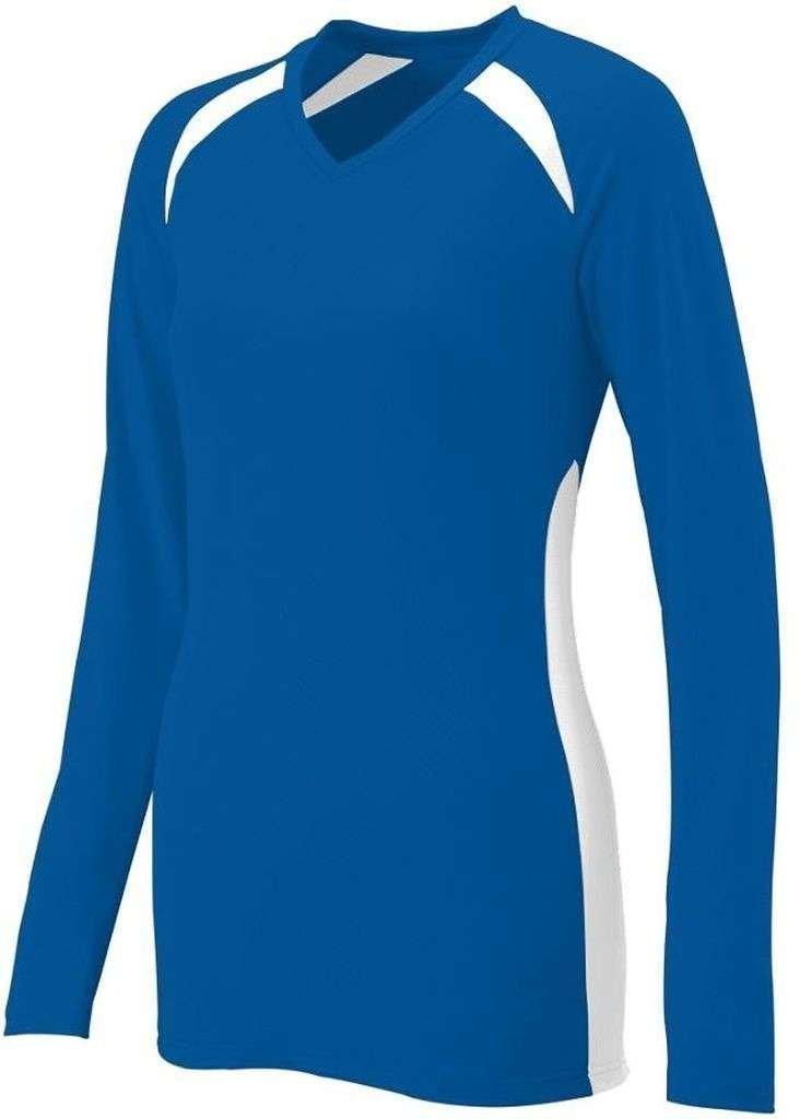 Augusta SportswearレディースSpike Jersey B00HJTMVNE X-Large|ロイヤル/ホワイト ロイヤル/ホワイト X-Large