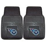 FANMATS NFL Tennessee Titans Vinyl Heavy Duty Car Mat