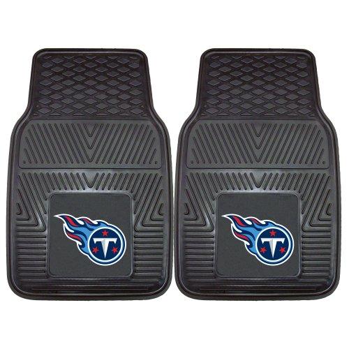 FANMATS NFL Tennessee Titans Vinyl Heavy Duty Car Mat ()