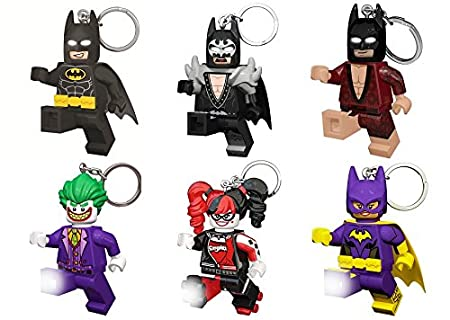 Batman Lego Película Harley Quinn Llavero con Luz Luces Led ...