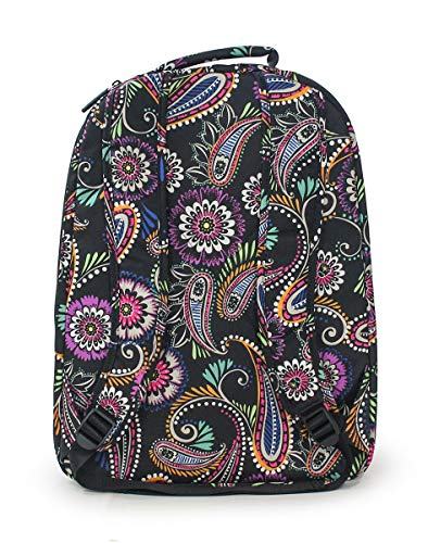 Lighten Essential Backpack Large Swirl Bandana Vera Up Bradley gvwtSq8xH