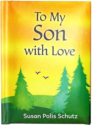 Blue Mountain Arts Little Keepsake BookTo My Son with Love 4 x 3 in. Sentimental Pocket-Sized Gift Book from Mom for Sons Birthday, Graduation, Christmas, orJust Because, by Susan Polis Schutz
