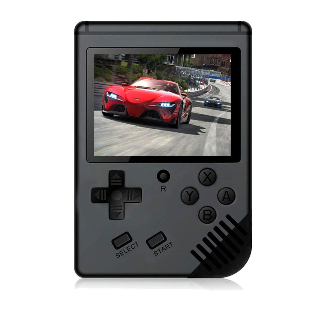 MAXMIKO Handheld Game Console, Portable Video Game 3 Inch HD Screen 313 Classic Games,Retro Game Console Can Play on TV, Good Gifts for Kids to Adult. (Black) by MAXMIKO (Image #1)