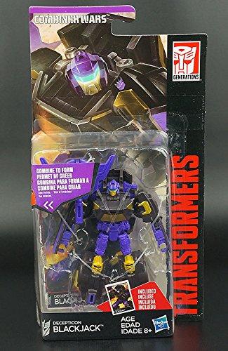 Transformers Hasbro Generations Combiner Wars Decepticon Menasor Blackjack