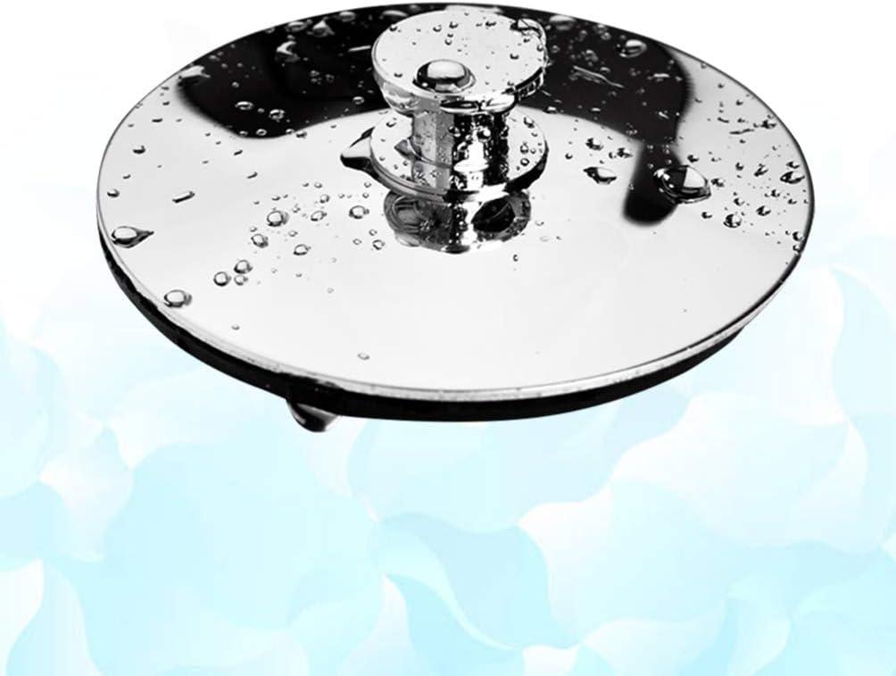 TOPBATHY Fregadero de Acero Inoxidable Tap/ón de Basura Tina de Desag/üe Tap/ón de Desag/üe Tapa de Sellado de Agua Accesorios de Desecho de Alimentos