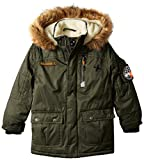 Big Chill Little Boys Sherpa Lined Expedition, Forrest, 6
