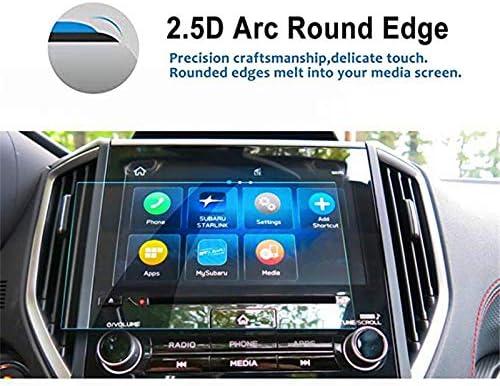 cicisame 1PCS 8 インチ車のナビゲーション画面プロテクター高明快さ強化ガラス タッチ スクリーン For Subaru 2019 Forester