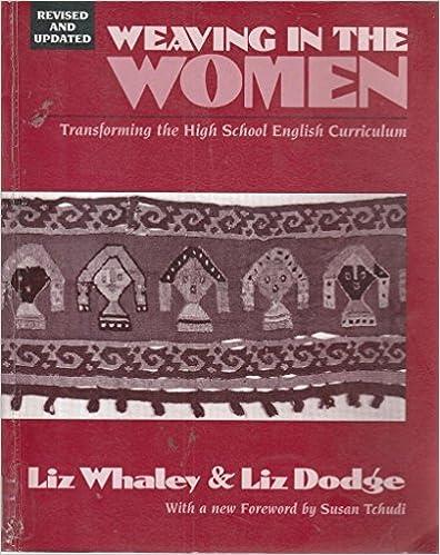 Weaving in the Women (1st Ed)