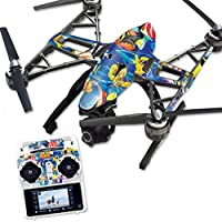 Skin For Yuneec Q500 & Q500+ Drone – Tropical Fish   MightySkins Protective, Durable, and Unique Vinyl Decal wrap cover   Easy To Apply, Remove, and Change Styles   Made in the USA