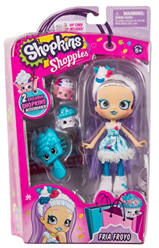 Shopkins Shoppies Doll Single Pack   Fria Froyo