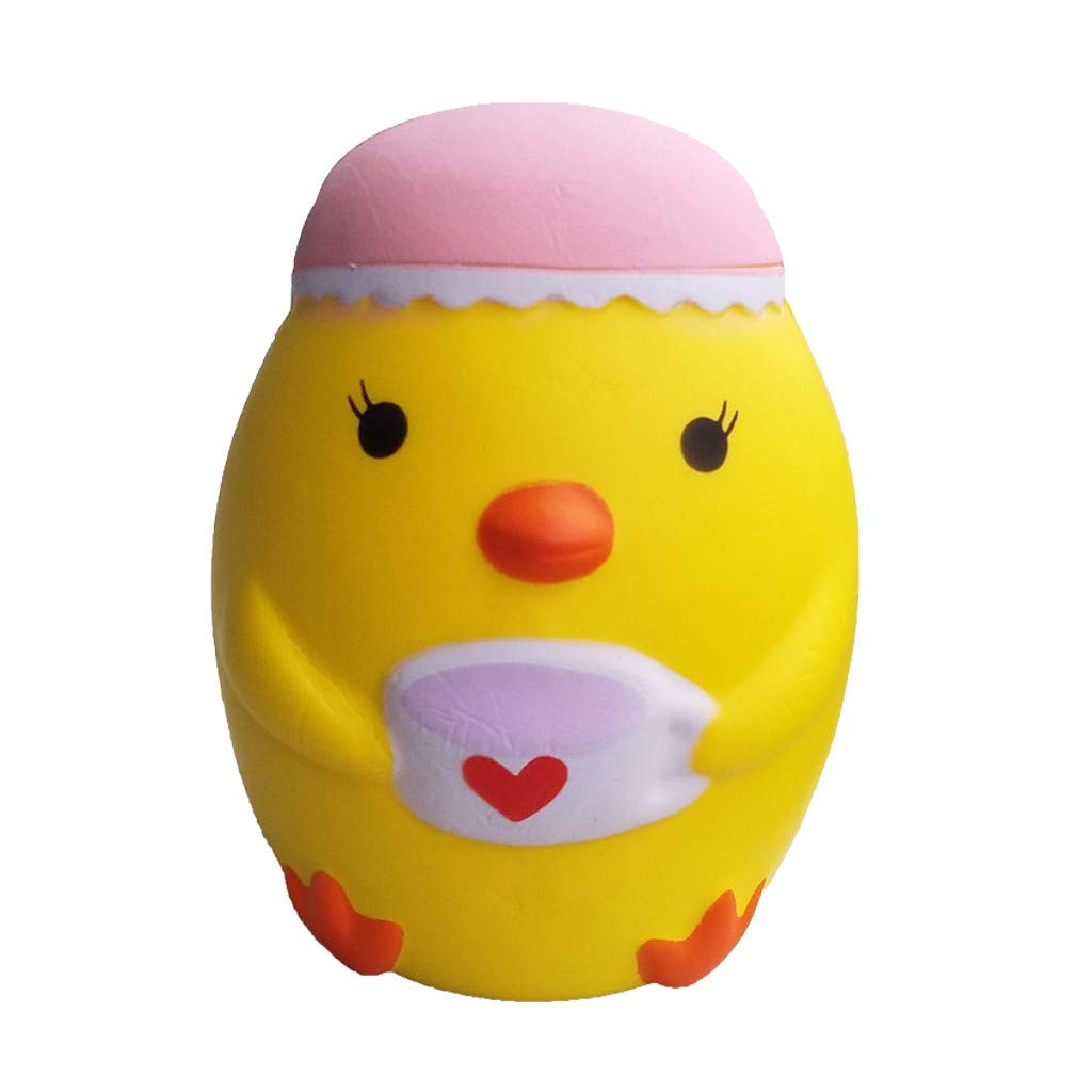 Binory Mini Adorable Chick Decompression Rebound Toy Super Slow Rising Kids Fun Toy Stress Reliever Gifts