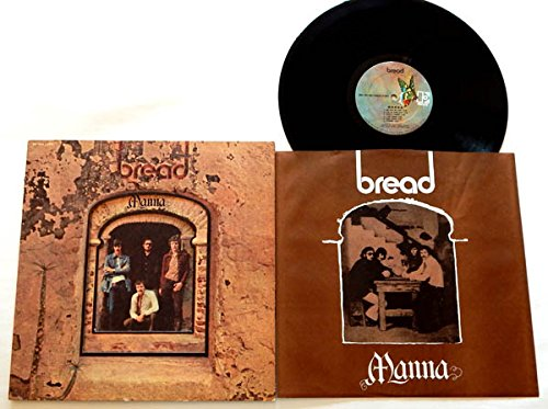 Bread LP Manna - Elektra Records 1971 - Near Mint Die-Cut Fold Out Cover - 1971 FIRST US pressing! - Contains the Hit Song