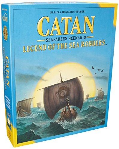 Catan Studios Catan: Legend of the Sea Robbers Board Game
