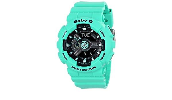 Casio BA-111-3ACR - Reloj de Pulsera Mujer, Resina, Color ...