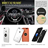 Universal Magnetic Phone Holder, FITFORT 360°Rotation Magnetic Car Mount Holder for Cell Phone GPS Tablet iPhone X 8 7 6s 6 Plus Galaxy S9,S8,S7 Edge,Note 8, 5, 4