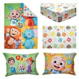 """Cocomelon""""Learning is Fun"""" 4Piece Bedding"""