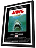 Jaws - 27 x 40 Framed Movie Poster