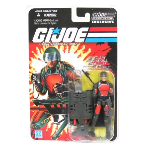 Grand Slam Artillery Operations Specialist GI Joe Club Exclusive Action Figure