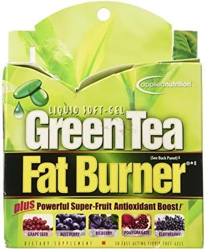 Applied Nutrition Green Tea Fat Burner - 30 Liquid Soft-Gels (Pack of 2)