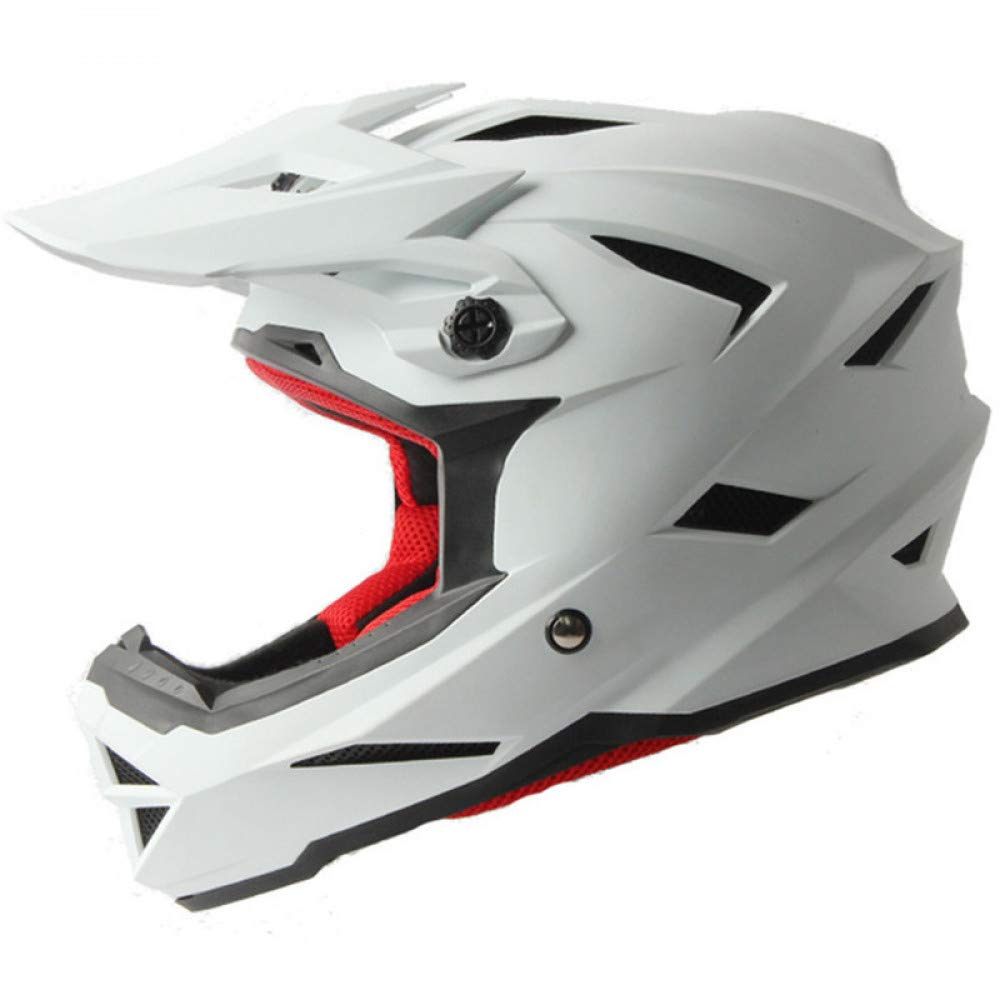 LOLIVEVE Casco da Motocross Casco Integrale da Mountain Bike Bike Bike Casco Racing da Regata B07LGZQGRQ M | Di Qualità Fine